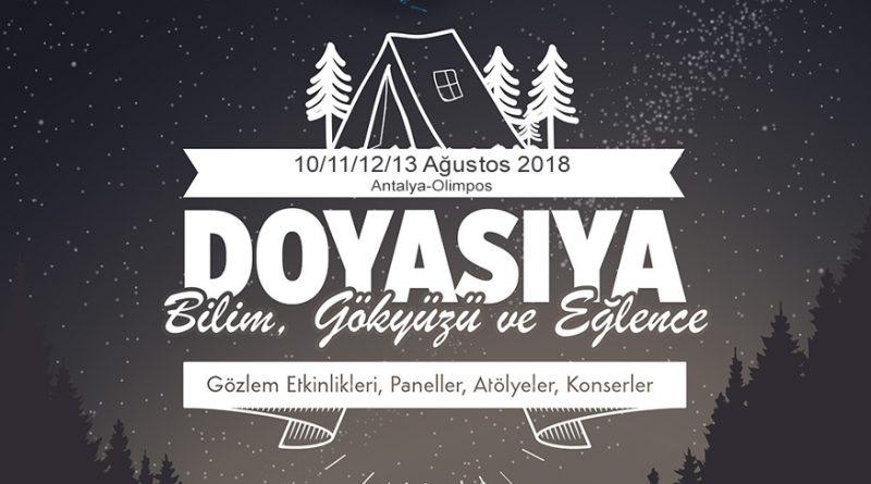 Olimpos Gökyüzü ve Bilim Festivali 2018 Kayıtları Sürüyor (Biz de Oradayız!)