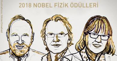 Elli Beş Yıl Sonra İlk Kez Nobel Fizik Ödülü Bir Kadına Verildi